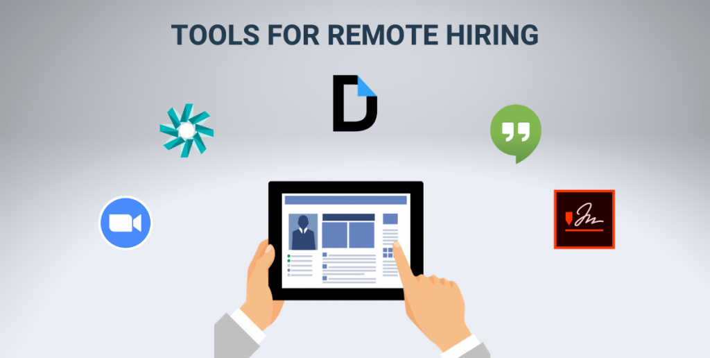 Tools for remote Hiring